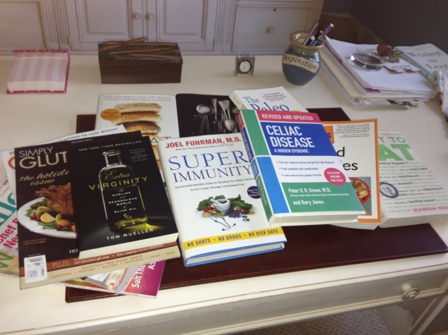Books about celiac disease and food allergies