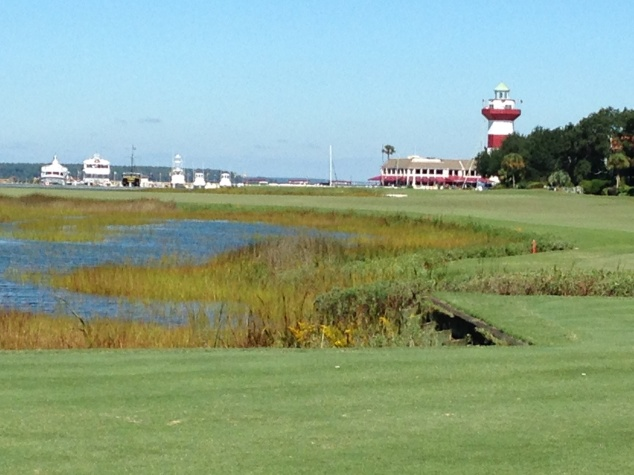View from the Harbour Town 18th hole (photo by Judy M.)