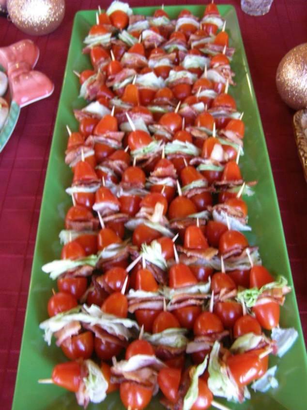 Bacon, Lettuce, Tomatoe Appetizer
