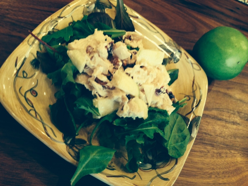 Easy Holiday Chicken Salad