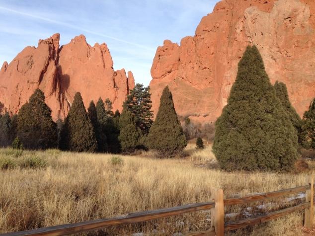 Garden of Gods in Colorado Springs