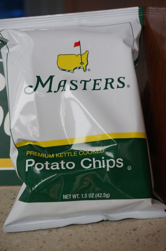 The only food an allergic foodie could eat at The Masters