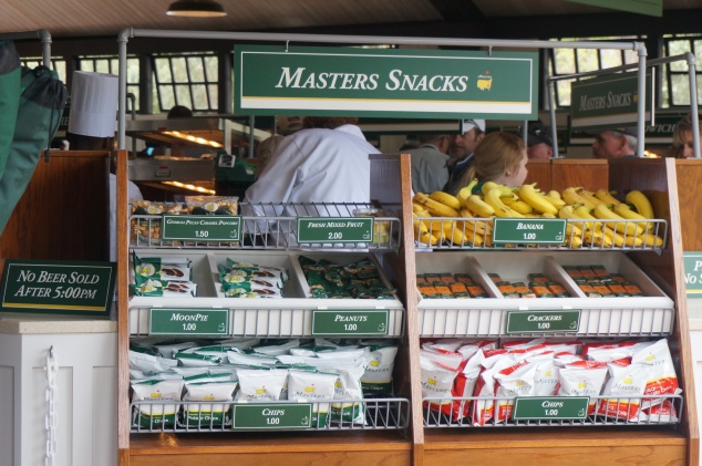 Hard to eat at The Masters if you have celiac disease and/or food allergies