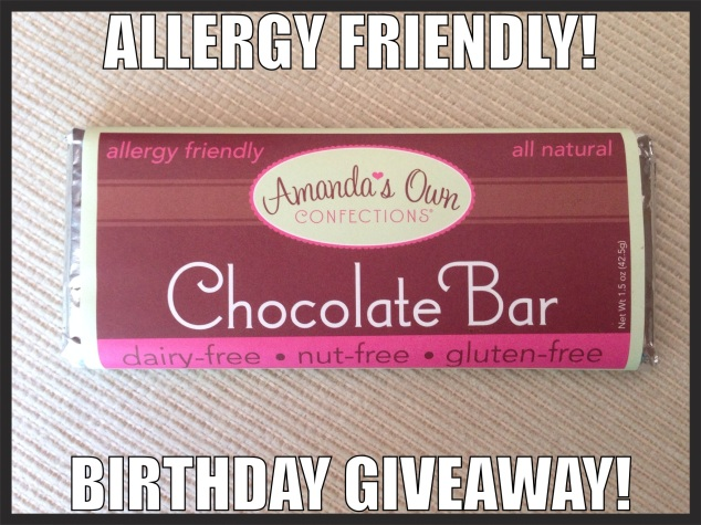 Chocolate Bar Giveaway. Enter to win by Tuesday, April 22, 2014, 5 PM EST