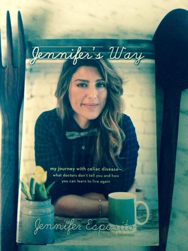 Jennifer Esposito shares what it is  like to live with celiac disease in new memoir called Jennifer's Way.