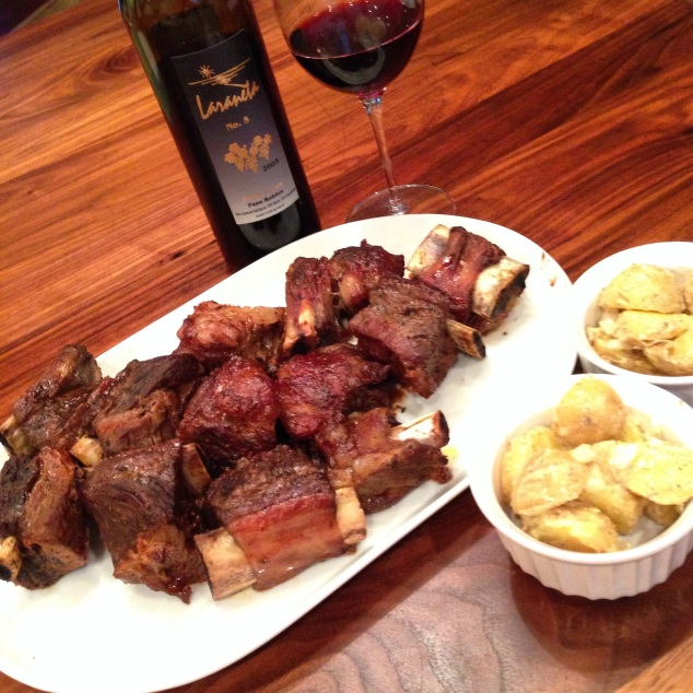 Allergy-Free Short Ribs and Potato Salad