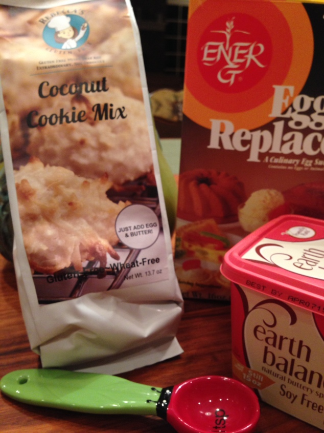 Rebecca's Gluten Free Cookie Mixes