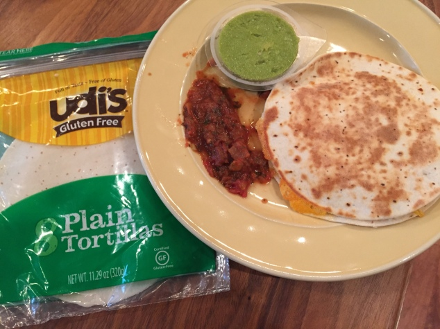 These tortillas come in small and large. Dairy, soy and nut free. Allergens: egg.